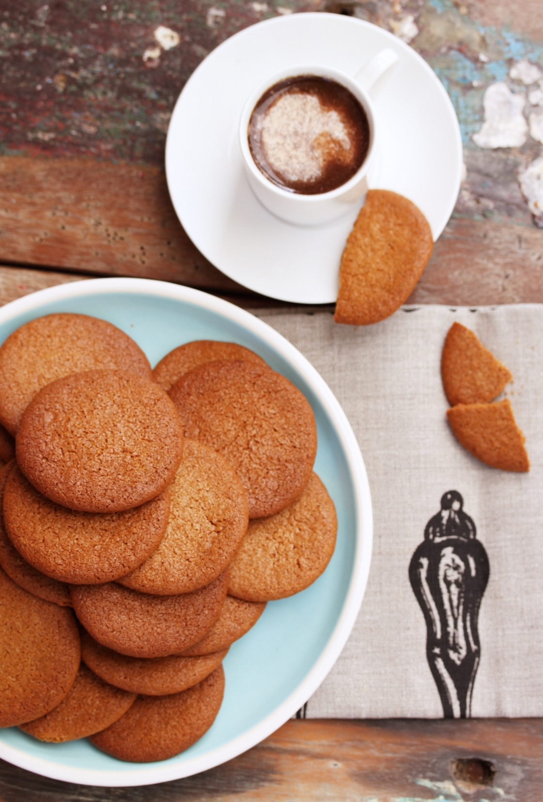 Thermomix Recipe Ginger Nut Biscuits Cookies Tenina