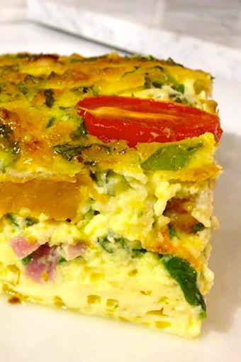 how to make baked egg custard