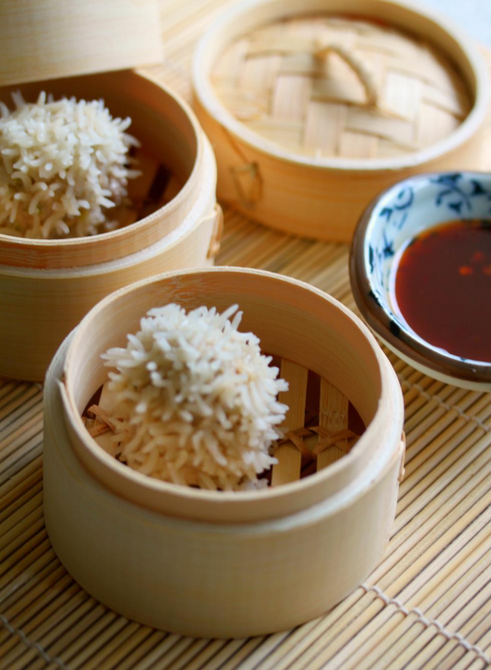 Thermomix recipe: Steamed Rice Pork Balls · Tenina.com