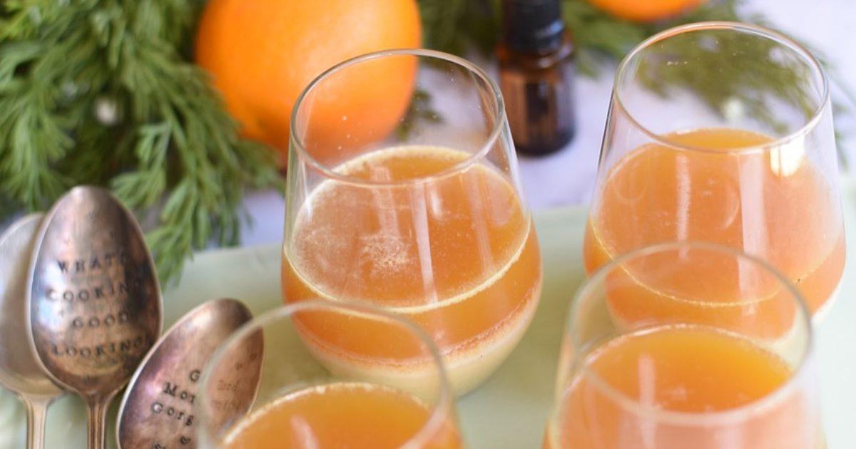 Thermomix Recipe Vanilla Milk And Orange Jelly Tenina Com