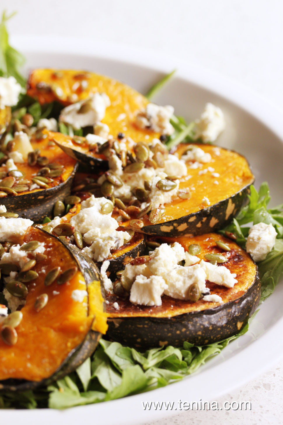 Thermomix recipe: Roasted Pumpkin Salad · Tenina.com