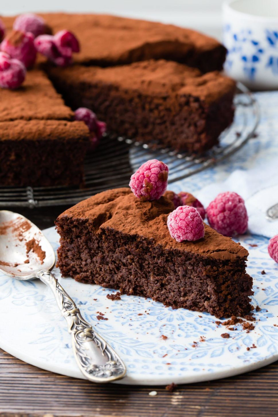 Thermomix Flourless Chocolate Cake