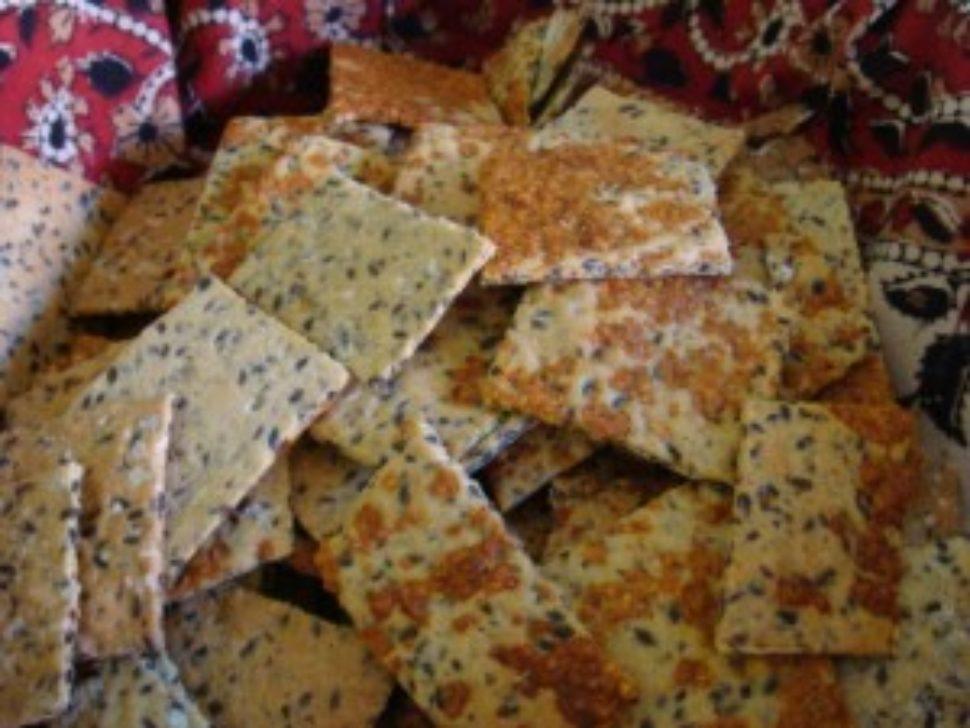 thermomix crackers recipe