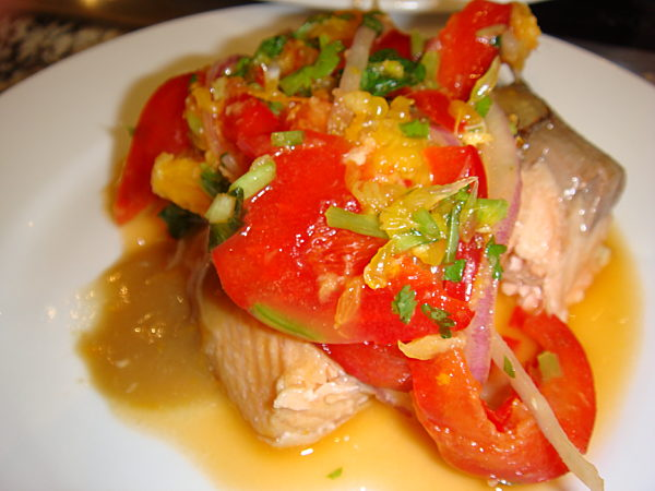 Photo of Salmon Fillet With Orange Relish