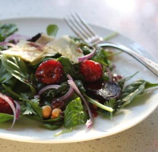 Photo of Sugar Roasted Plum Salad