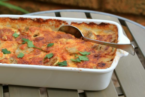 Photo of Artichoke And Potato Gratin