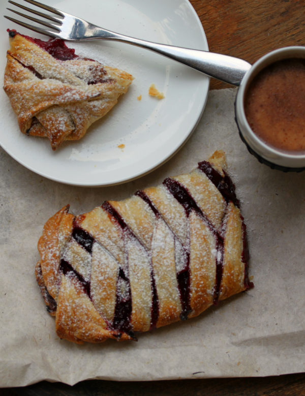 Photo of Spiced Plum And Almond Pastries