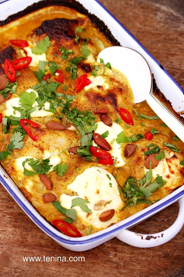 Photo of Almond Chicken Curry with Yoghurt