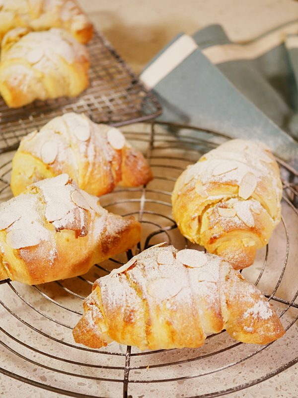 Almond Frangipane Croissant P Fotor