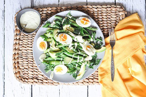 Photo of Asparagus, Green Bean and Avocado Salad
