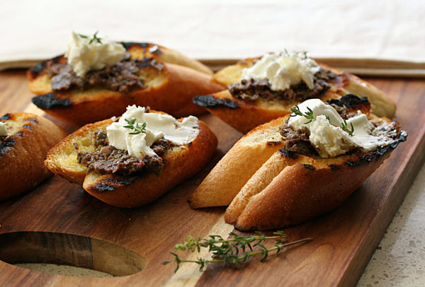 Baguette-with-Olive-Tapenade