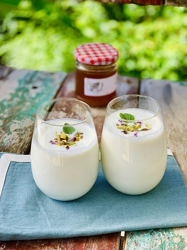 Basil Honey Lassi P