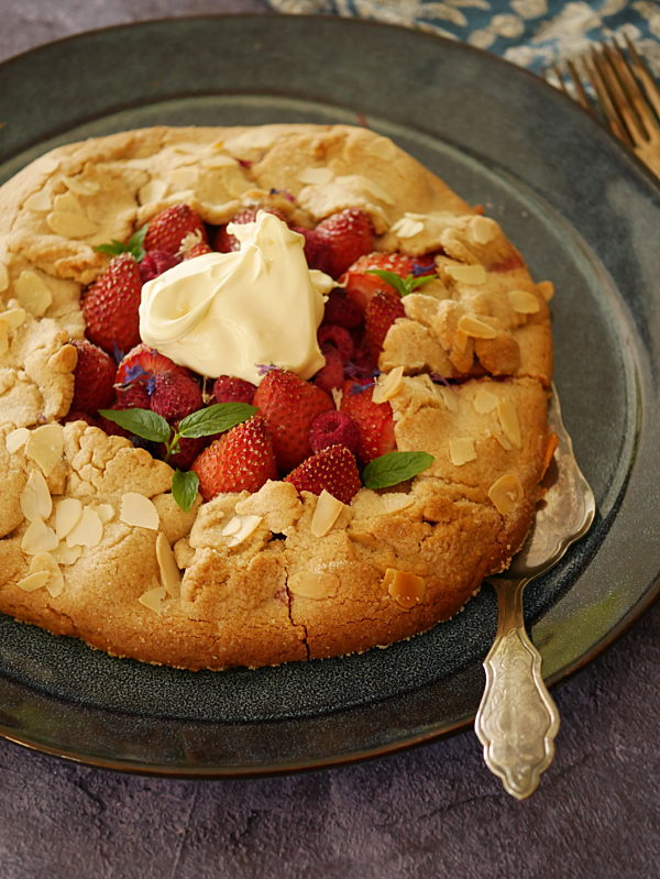 Berry Almond Galette OH P