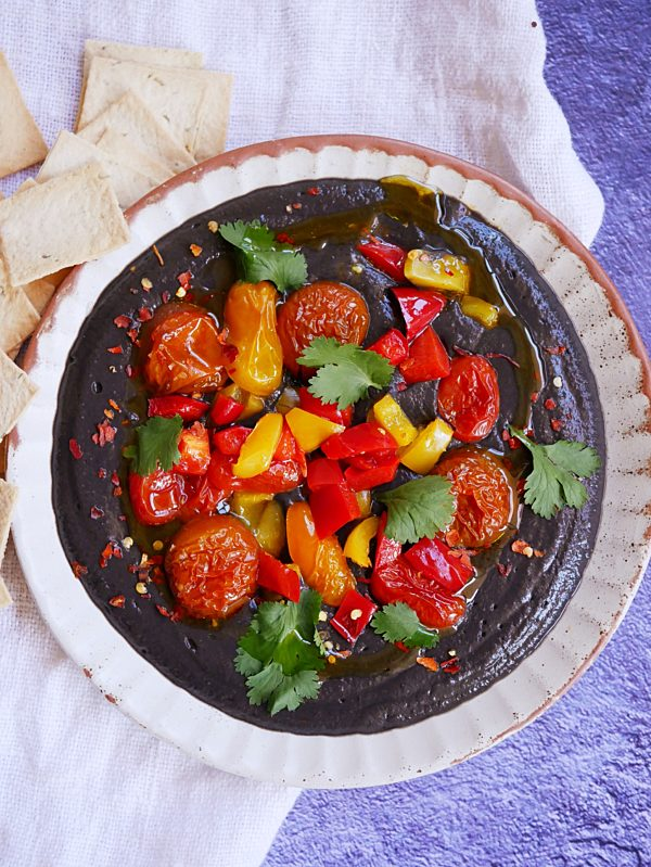 Black Bean Hummus P TENINA