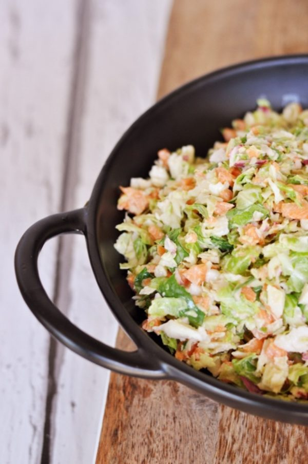 Brussels Sprouts Coleslaw