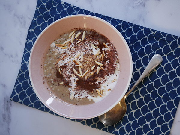 Buckwheat Porridge with Toppings LS