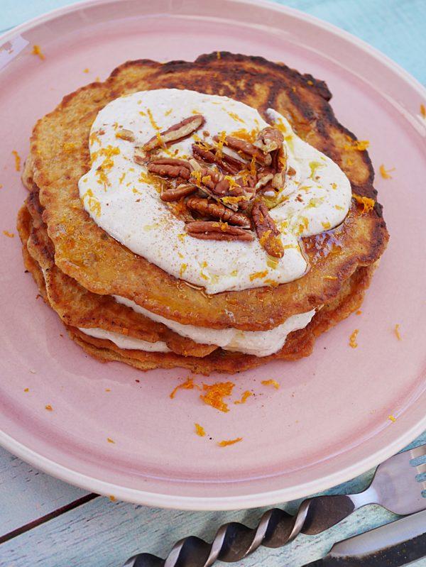 Carrot Cake Pancakes P Fotor
