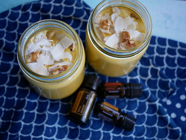 Carrot Cake Smoothies Blurred Doterra