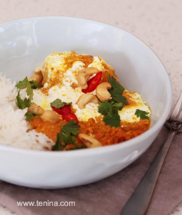 Photo of Cashew Chicken Curry