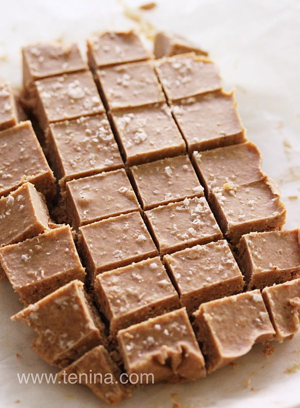 Cashew-and-Coconut-Salted-Caramel-Fudge