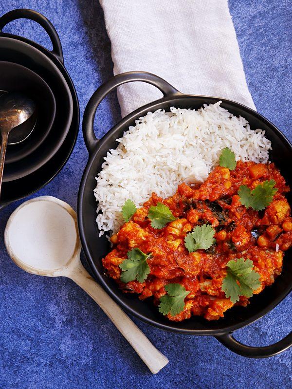 Cauliflower Veggie Tikka Masala P TENINA