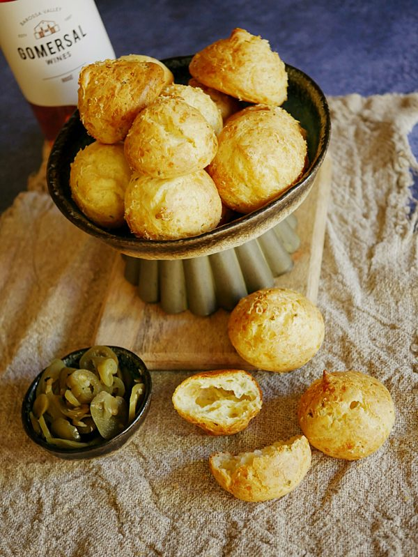 Cheese Jalapeno Gougere Poppers 1 P Thermomix