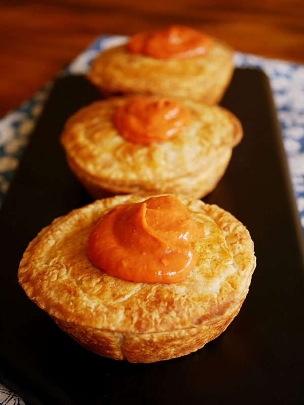 Chicken Pies with Spelt Puff P Pie Maker