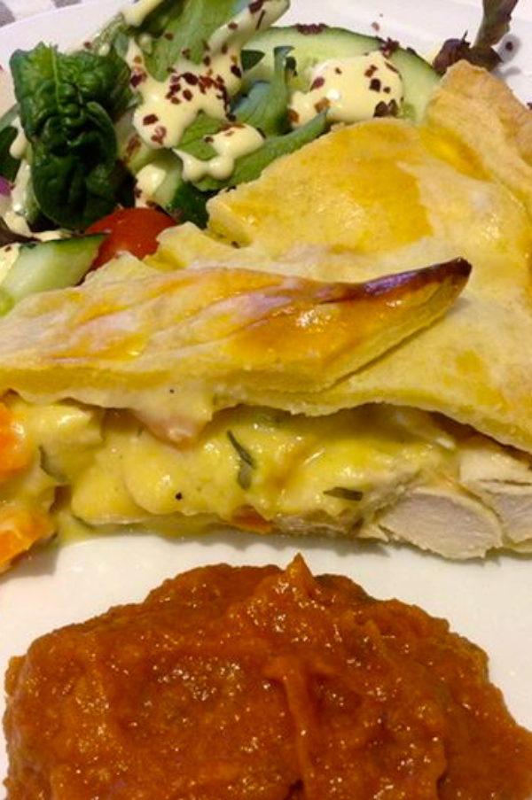 Chicken-tarragon-pie