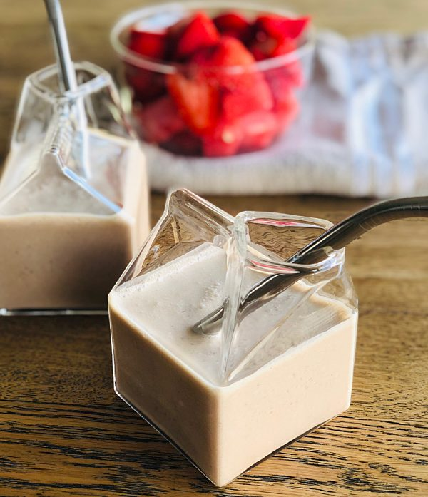 Choccie Milk with Peanut Butter