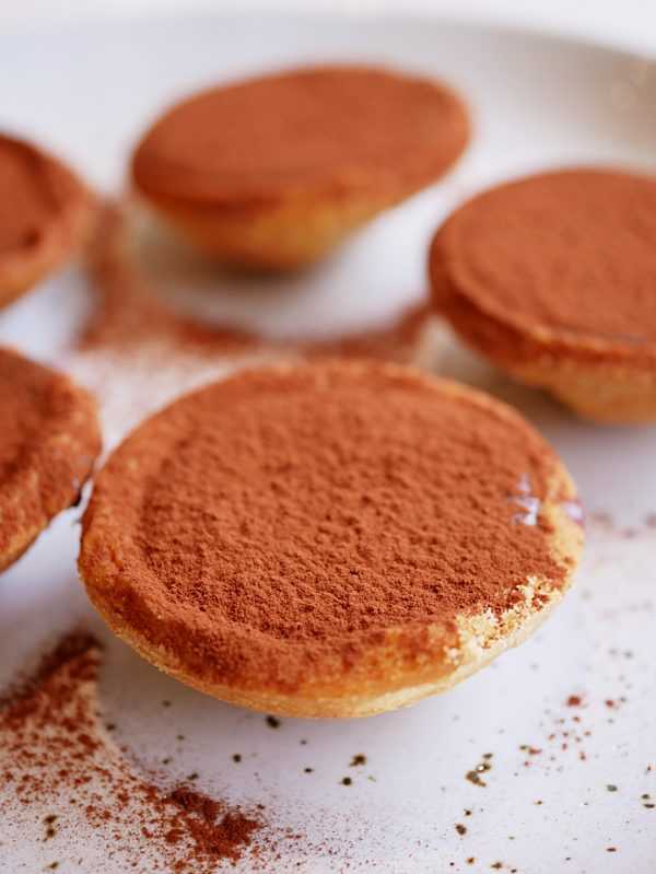 Chocolate Cardamom Tartlets Fotor