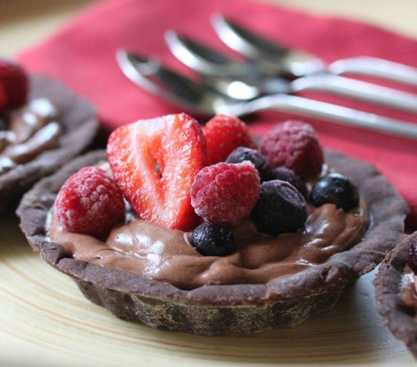 Chocolate Mousse Tarts