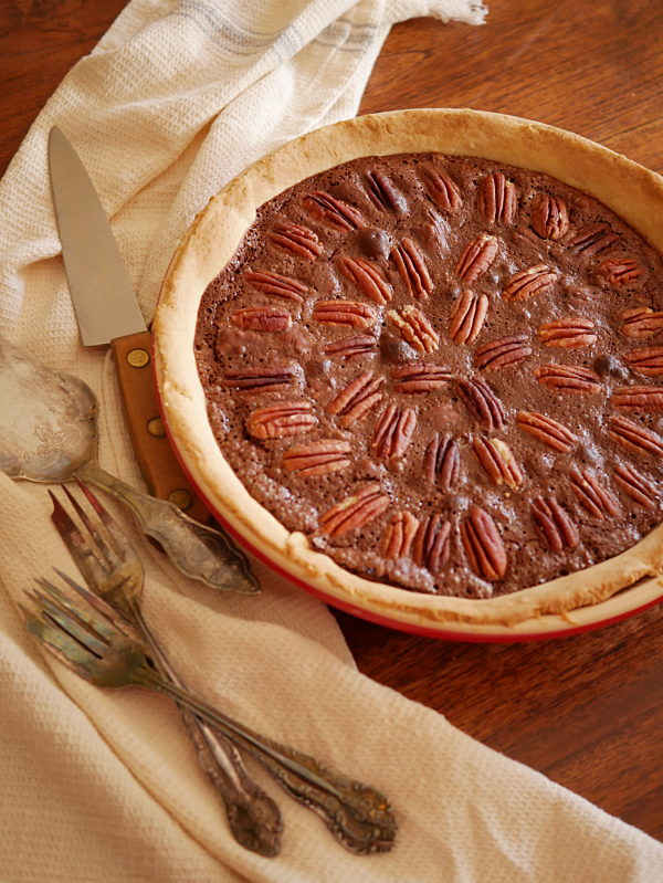 Chocolate Pecan Pie P