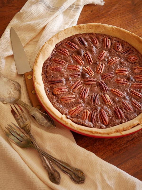 Chocolate Pecan Pie P