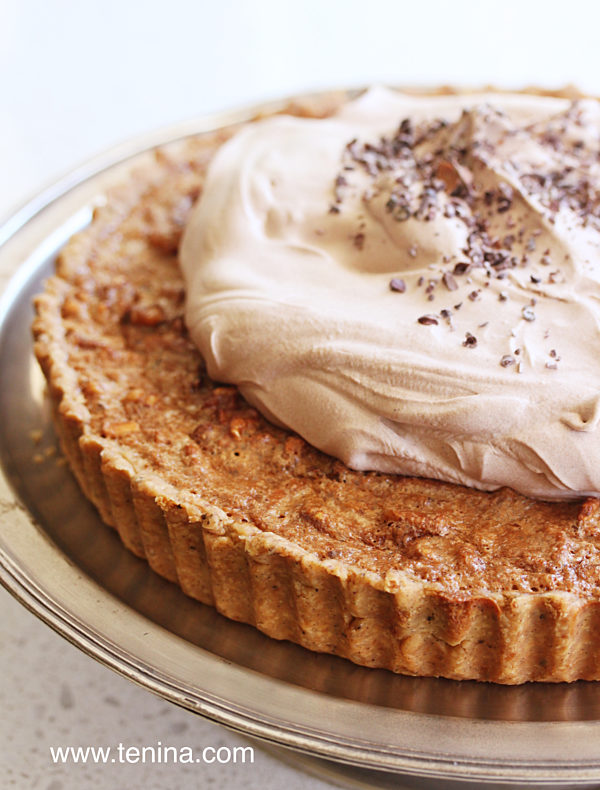 Chocolate-Walnut-Pie