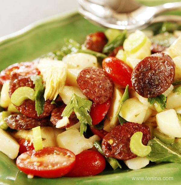 Chorizo-Potato-Salad