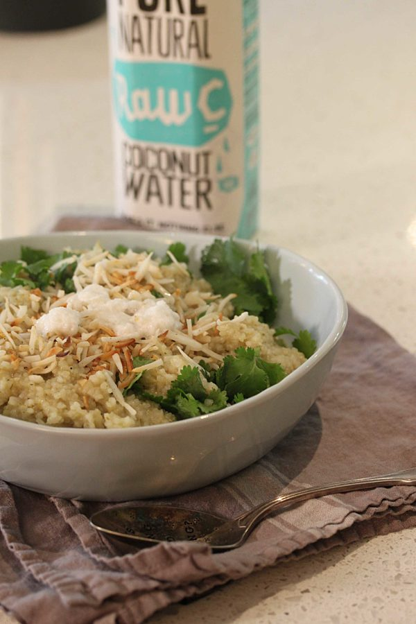 Coconut Water Rice