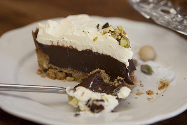 Coconut and Chocolate Pie LS