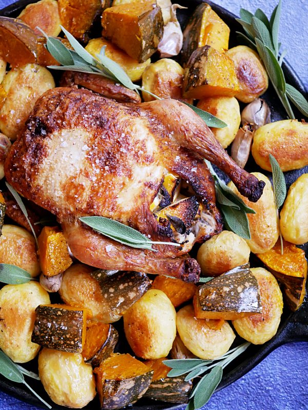 Crispy Skin Roast Chicken
