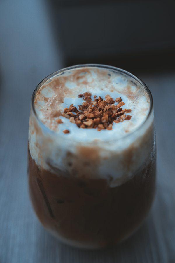 Dairy Free banana chocolate milk