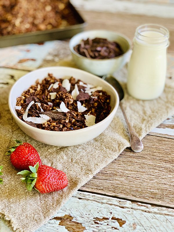 Dark Chocolate Granola With Pink Salt 34