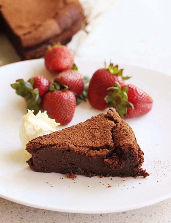 Decadent Chocolate Truffle Cake Fotor