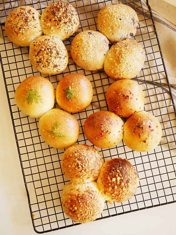 Dinner Rolls 6 ways OH P Thermomix
