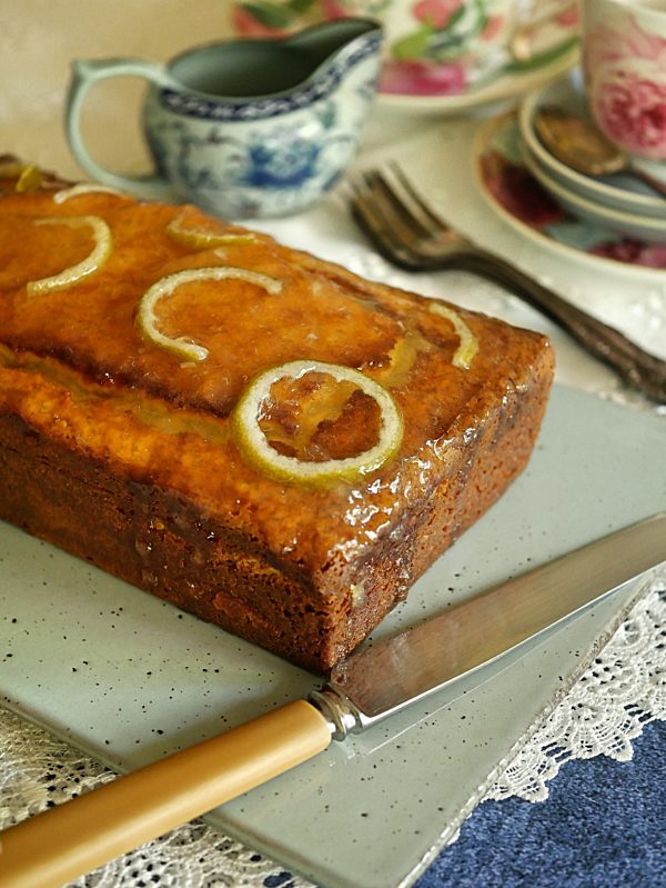 EVOO Lime and Yoghurt Cake P Thermomix
