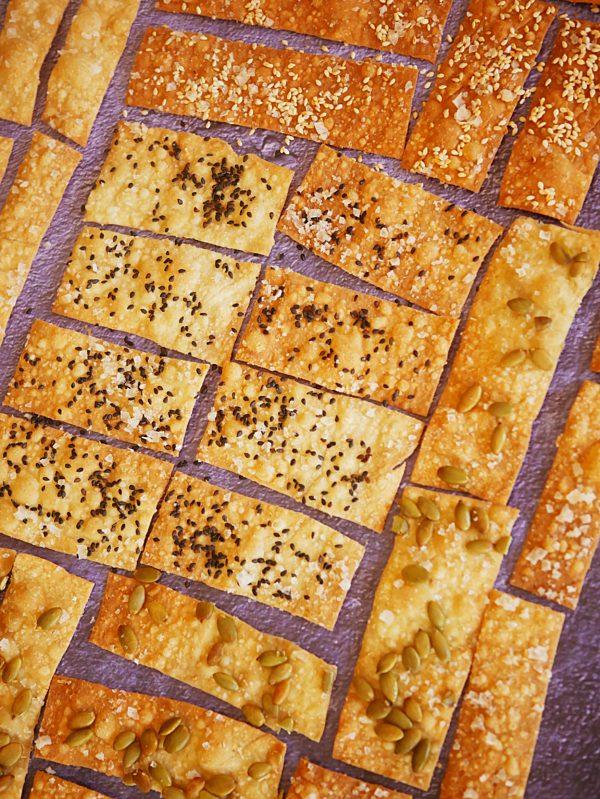 EVOO Wholewheat Crackers P TENINA