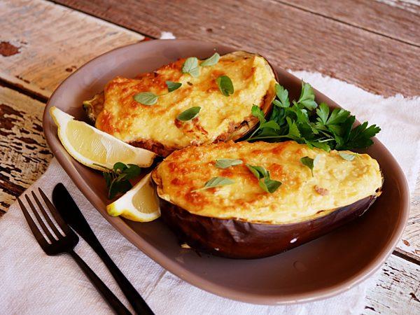 Eggplant Stuffed Moussaka Ls Fotor