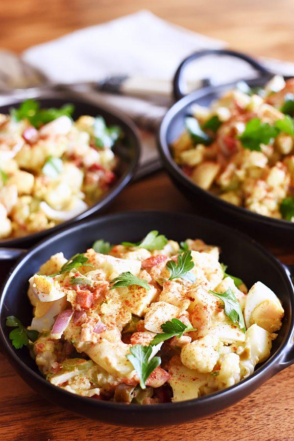 Fauxtato Salad 1
