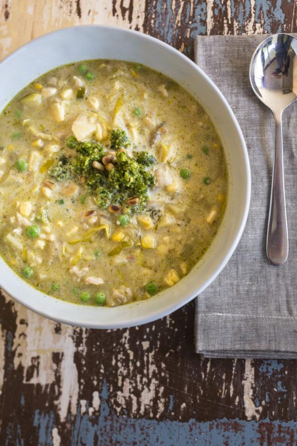 Fish And Corn Chowder