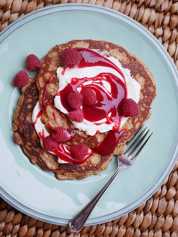 Gluten Free Overnight Almond Pancakes P Fotor