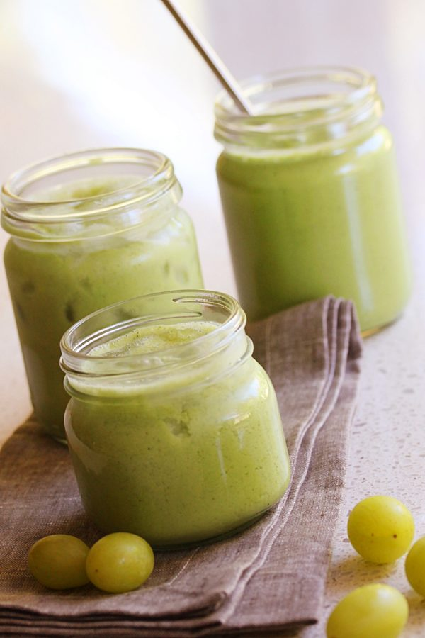 Grape Minty Green smoothie Thermomix
