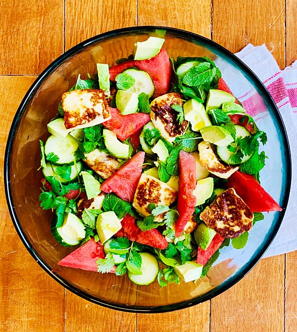 Photo of Haloumi and Herby Watermelon Salad